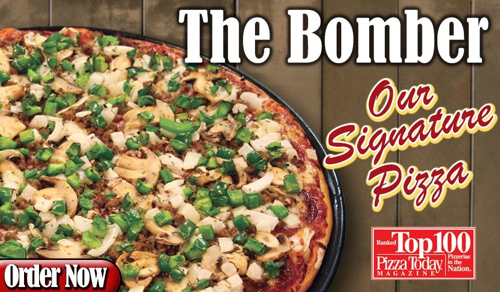 Bomber pizza