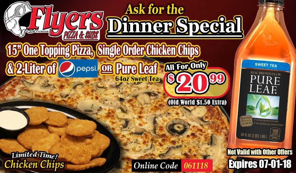 DinnerSpecialJune182